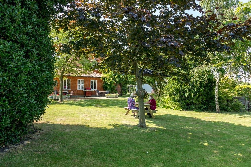 Landscaped gardens at Ashingdon Hall